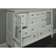 Magnussen Furniture Ashby Dresser in Patina White 71925