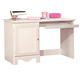 Standard Furniture Spring Rose Student Desk in White Pearlescent 50264