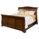 New Classic Whitley Court Eastern King Sleigh Bed in Tobacco Finish 00-002-110