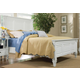 Magnussen Furniture Ashby Cal King Panel Bed in Patina White 71960CK