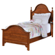 All-American Cottage Collection Twin Panel Bed in Cherry CLEARANCE