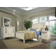 Magnussen Furniture Ashby 4-Piece Panel Bedroom Set in Patina White