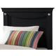 Standard Furniture Carlsbad Twin Panel Headboard in Dark Pecan 50403