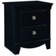 Standard Furniture Carlsbad Nightstand in Dark Pecan 50407