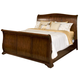 New Classic Whitley Court Queen Sleigh Bed in Tobacco Finish CLOSEOUT