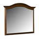 New Classic Whitley Court Landscape Mirror in Tobacco Finish 00-002-060