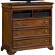 New Classic Whitley Court Media Chest in Tobacco Finish 00-002-078