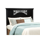 Standard Furniture Madera Full/Queen Panel Headboard in Ebony Black 54551