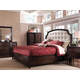 A.R.T. Intrigue Leather Panel Bedroom Set