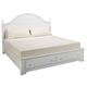 All-American Cottage Collection Eastern King Panel Storage Bed in Snow White