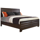 Pulaski Tangerine 330 Sable California King Panel Bed