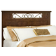 Standard Furniture Santa Cruz Full/Queen Panel Headboard in Cherry 56201