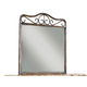 Standard Furniture Santa Cruz Metal Mirror in Cherry 56218