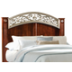 Standard Furniture Triomphe Full/Queen Panel Headboard in Cherry 57201
