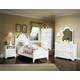 All-American Lodge Collection Panel Bedroom Set in Snow White