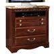 Standard Furniture Triomphe TV Chest w/ Marbella Top in Cherry 57206
