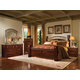 Standard Furniture Triomphe Poster Bedroom 4pc Set in Cherry
