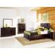 Magnussen Furniture Nova 4-Piece Island Bedroom Set in Chestnut