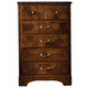 Standard Furniture San Miguel Five Drawer Chest w/ Marbella Top in Lafayette Oak 51105