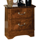 Standard Furniture San Miguel Nightstand w/ Marbella Top in Lafayette Oak 51107