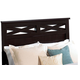 Standard Furniture Crossroads Full/Queen Panel Headboard in Cherry 57651