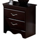 Standard Furniture Crossroads Nightstand in Cherry 57657