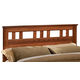 Standard Furniture Orchard Park Full/Queen Panel Headboard in Cherry Star 58701