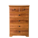 Standard Furniture Orchard Park Five Drawer Chest in Cherry Star 58705