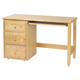 Maxtrix Student Desk w/ Left Drawers in Natural 2415LN
