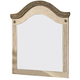Standard Furniture Florence Panel Mirror in Jura Block 59518