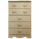 Standard Furniture Florence Five Drawer Chest in Jura Block 59505