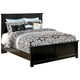 Maribel King Panel Bed in Black