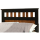Standard Furniture Steelwood Twin Panel Headboard in Vinza Oak & Madison Cherry 61253