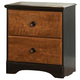 Standard Furniture Steelwood Nightstand in Vinza Oak & Madison Cherry 61257