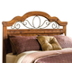 Standard Furniture Hester Heights Full/Queen Panel Headboard in Dark Old Fashion Wood 61151