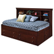 New Classic Versaille Youth Twin Lounge Bed in Bordeaux Finish 05-010-512