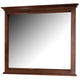 All-American Forsyth Landscape Mirror in Cherry