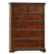 All-American Forsyth 5-Drawer Chest in Cherry