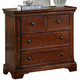 All-American Mother's Collection 3-Drawer Night Stand in Cherry