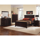 All-American Mother's Collection Panel Bedroom Set A in Merlot