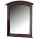 All-American Hamilton/Franklin Mirror in Merlot