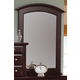 All-American Hamilton/Franklin Vanity Mirror in Merlot