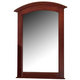 All-American Hamilton/Franklin Vanity Mirror in Cherry