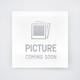 All-American Hamilton/Franklin 3-Drawer Media Shutterset in Snow White