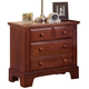 All-American Jefferson/Madison 2-Drawer Night Stand in Cherry