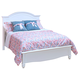 New Classic Victoria Youth Full Panel Bed in White Finish 05-621-410