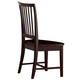 All-American Hamilton/Franklin Wooden Desk Chair  in Merlot