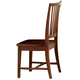 All-American Hamilton/Franklin Wooden Desk Chair  in Cherry