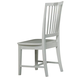 All-American Jefferson/Madison Wooden Desk Chair  in Snow White
