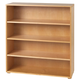 Maxtrix 4 Shelf Bookcase without Crown and Base in Natural 4740-001